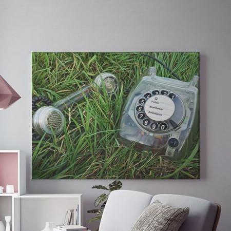 Tablou Canvas Telefon cu disc