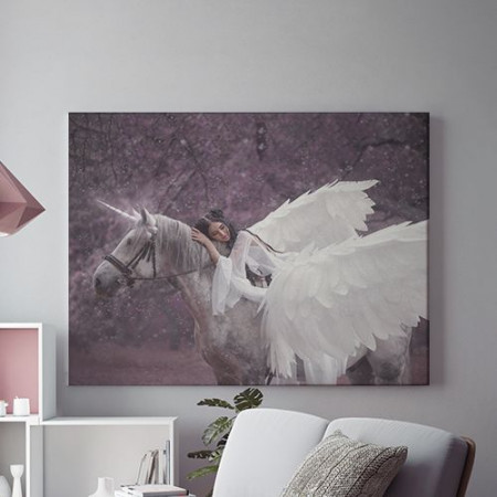 Tablou Canvas Winged horse