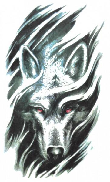 Tatuaj temporar -Wolf- 17x10cm