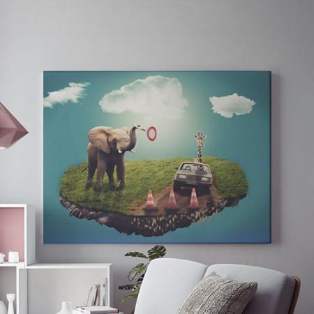 Tablou Canvas Animal Patrol