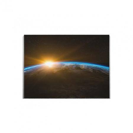Tablou Canvas Blue Line Earth