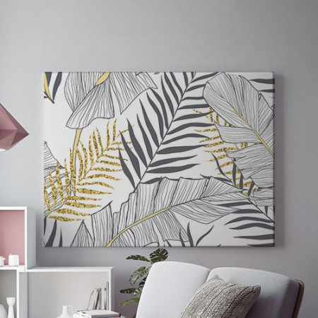 Tablou Canvas Exotic Gold
