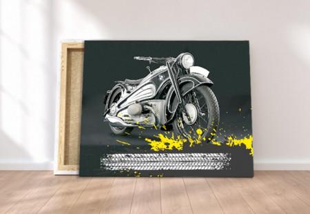 Tablou canvas - Moto Bike