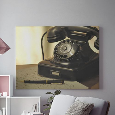 Tablou Canvas Telefon si scrisoare