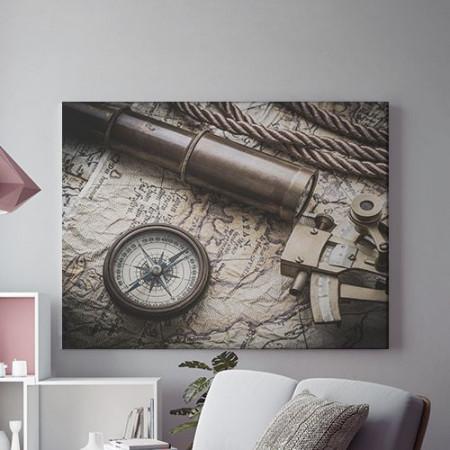 Tablou Canvas Unelte de navigatie