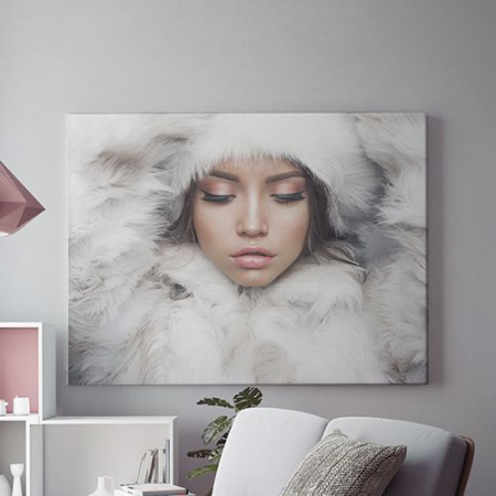 Tablou Canvas Winter lady
