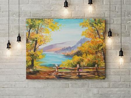 Tablou Canvas Culori De Toamna