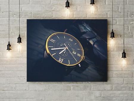 Tablou Canvas Golden watch