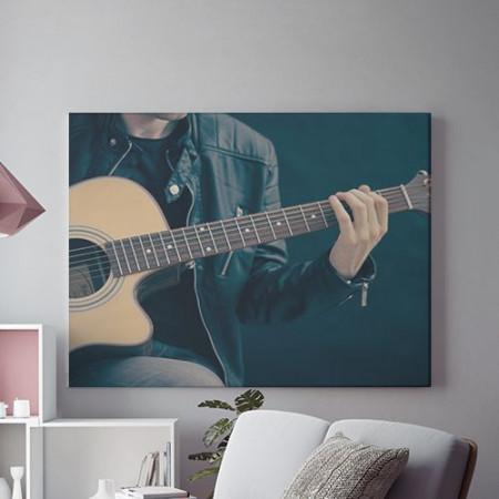 Tablou Canvas Guitar solo