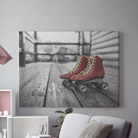 Tablou Canvas Patine cu rotile