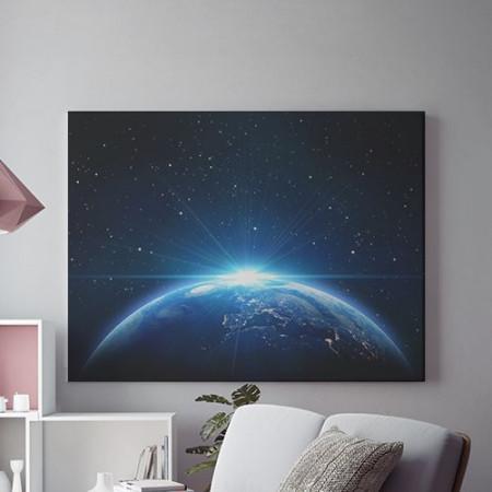Tablou Canvas Planeta albastra