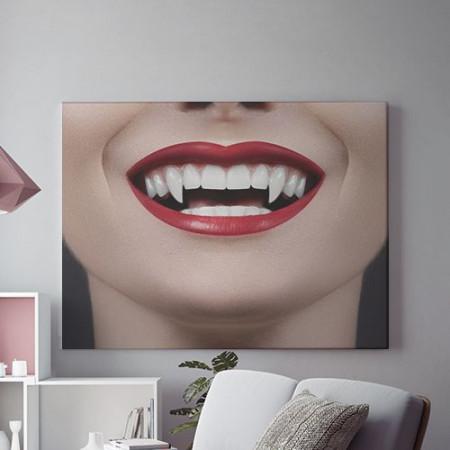 Tablou Canvas Sexy vampire