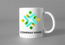 Cana personalizata cu logo si nume