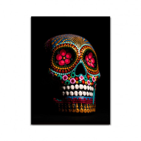 Craniu decorat