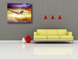 Tablou canvas - avion 01