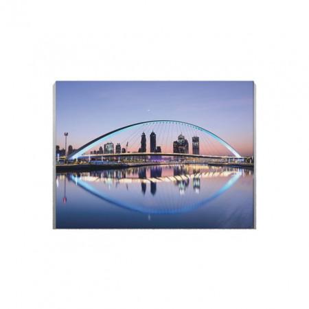 Tablou Canvas Blue Bridge
