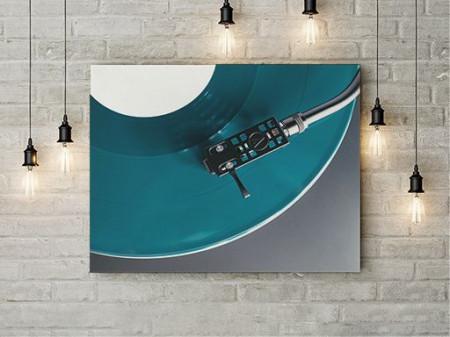 Tablou Canvas Blue Vinyl