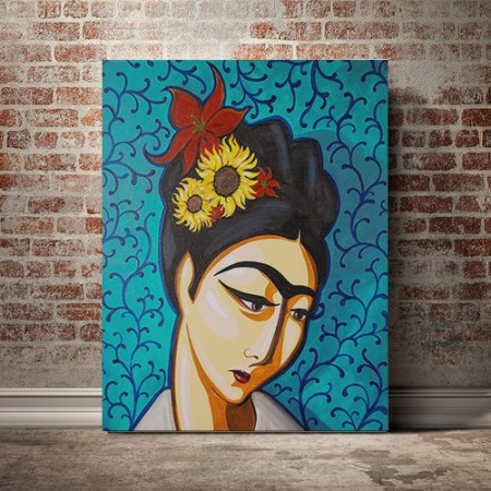 Tablou Canvas Frida minimalist
