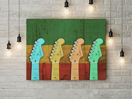 Tablou Canvas Guitar riffs
