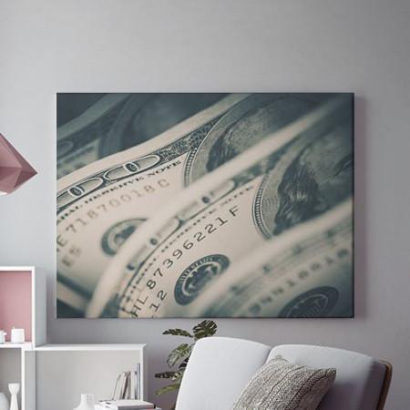 Tablou Canvas Money close-up