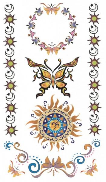 Tatuaj temporar -Soare- 17x10cm