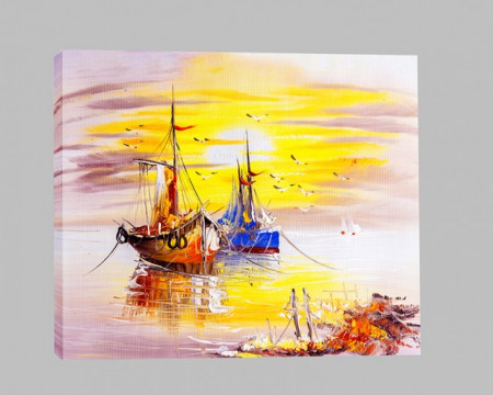 Corabii ancorate