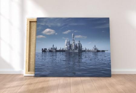 Tablou canvas - Atlantis