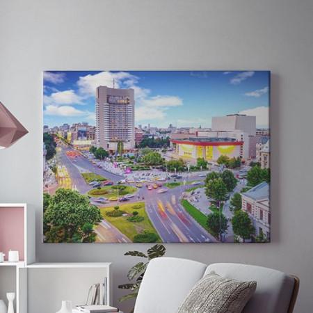 Tablou Canvas Bucurestiul colorat