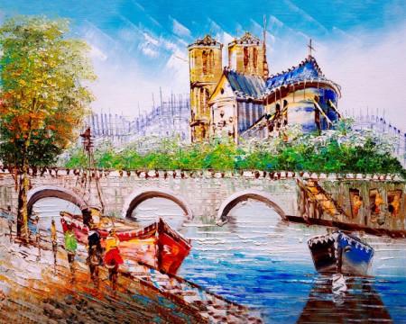 Tablou canvas efect pictura - Catedrala