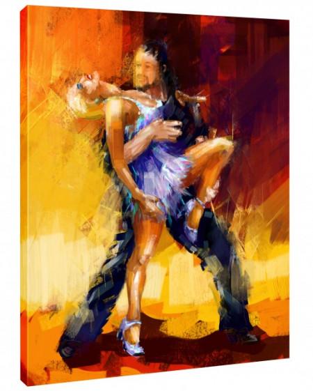 Tablou canvas efect pictura - Dans