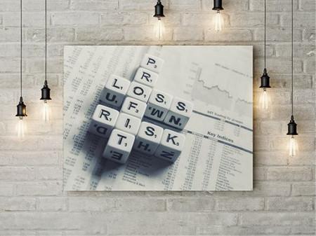 Tablou Canvas Keywords