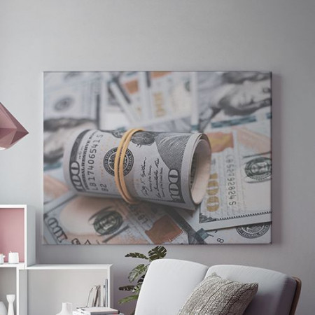 Tablou Canvas Money roll