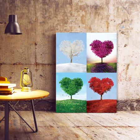 Tablou Four seasons of love