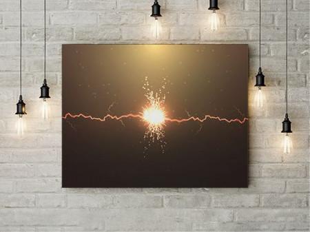 Tablou Canvas Electricity