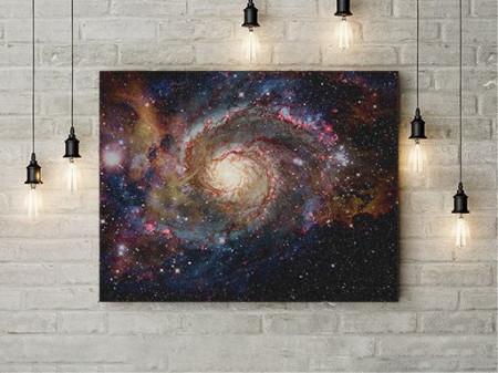Tablou Canvas Galaxie