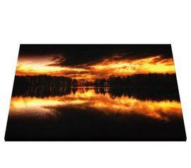 Tablou canvas - Lacul la apus de Soare