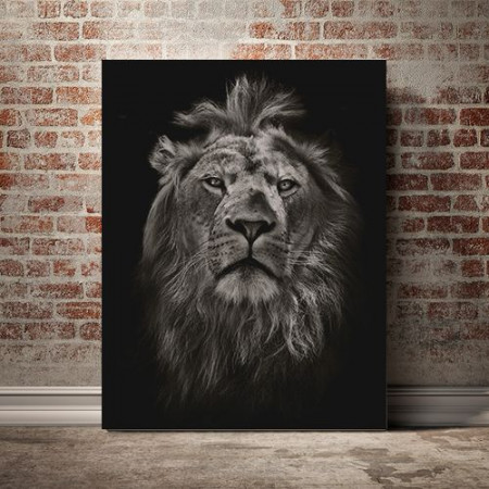 Tablou Canvas Old Simba