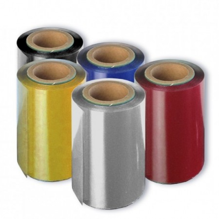 Ribbon argintiu pentru imprimanta folio