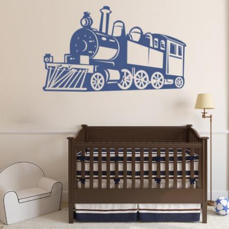 Sticker Steam Train Childrens