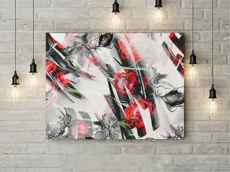 Tablou Canvas Abstract Floral
