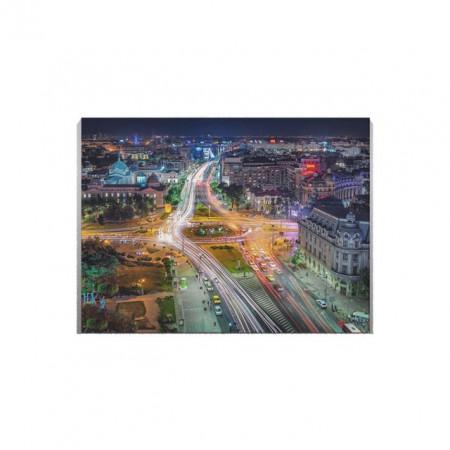 Tablou Canvas Bucharest by night