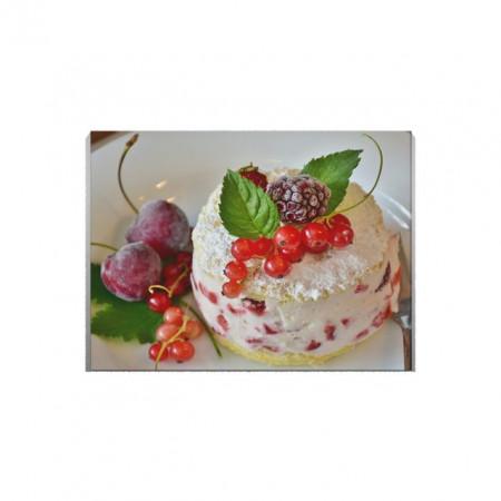 Tablou Canvas Fruits On a Cake