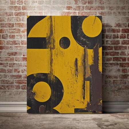 Tablou Canvas Rugina (Abstract)