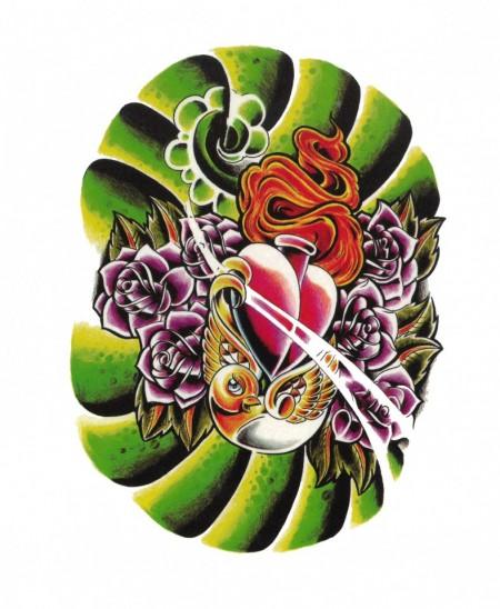 Tatuaj temporar -inima- 20x15cm
