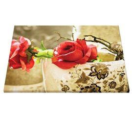 Tablou canvas - trandafiri rosii 01