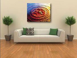 Tablou canvas - abstract picatura apa