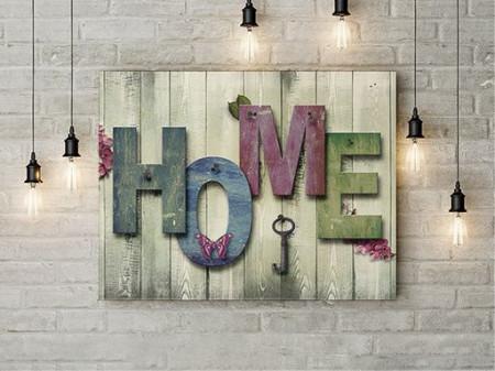 Tablou Canvas Home 1