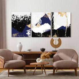Set tablouri canvas - Abstract contrasts