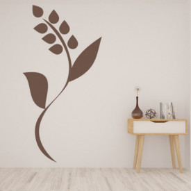 Sticker Simple Flower Floral Stem