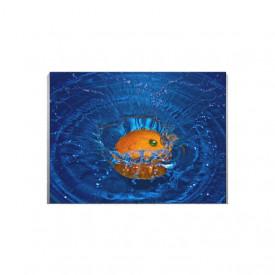 Tablou Canvas Blue Splash